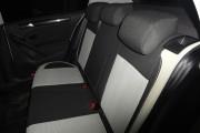 Фото 7 - Чехлы MW Brothers Volkswagen Golf VI хэтчбек (2008-2013), светлые вставки + серая нить