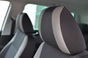 Фото 5 - Чехлы MW Brothers Volkswagen Tiguan I (2007-2016), светлые вставки + серая нить