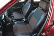 Фото 2 - Чехлы MW Brothers ZAZ Lanos T100 hatchback (2009-н.д.), красная нить