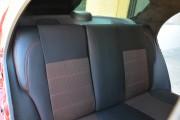 Фото 6 - Чехлы MW Brothers ZAZ Lanos T100 hatchback (2009-н.д.), красная нить