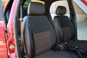 Фото 8 - Чехлы MW Brothers ZAZ Lanos T100 hatchback (2009-н.д.), красная нить