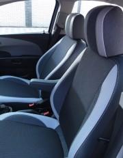 MW Brothers Chevrolet Aveo T300 (2012-н.д.), светлые вставки + серая нить