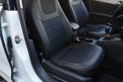 Фото 3 - Чехлы MW Brothers Volkswagen Jetta VI (2011-н.д) Trendline/Comfortline, серая нить