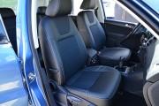 Фото 4 - Чехлы MW Brothers Volkswagen Tiguan I (2007-2016), серая нить