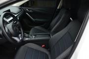Фото 4 - Чехлы MW Brothers Mazda 6 III (2013-2018), серая нить
