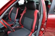 Фото 2 - Чехлы MW Brothers Chevrolet Lacetti hatchback (wagon) (2002-н.д.), красные вставки+красная нить
