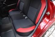 Фото 3 - Чехлы MW Brothers Chevrolet Lacetti hatchback (wagon) (2002-н.д.), красные вставки+красная нить