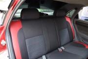 Фото 5 - Чехлы MW Brothers Chevrolet Lacetti hatchback (wagon) (2002-н.д.), красные вставки+красная нить