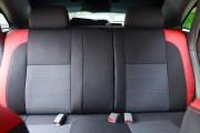 Фото 7 - Чехлы MW Brothers Chevrolet Lacetti hatchback (wagon) (2002-н.д.), красные вставки+красная нить