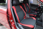 Фото 8 - Чехлы MW Brothers Chevrolet Lacetti hatchback (wagon) (2002-н.д.), красные вставки+красная нить