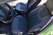 Фото 2 - Чехлы MW Brothers Ford Fiesta Mk6 (2002-2009), серая нить