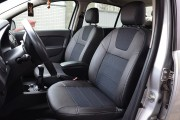 Фото 2 - Чехлы MW Brothers Renault Logan II (2012-2014), серая нить