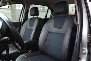 Фото 4 - Чехлы MW Brothers Renault Logan II (2012-2014), серая нить