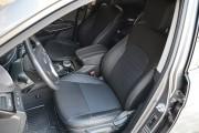 Фото 2 - Чехлы MW Brothers Hyundai Santa Fe III (2012-2018), серая нить