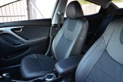 Фото 3 - Чехлы MW Brothers Hyundai Elantra 5 MD (2011-2015), серая нить
