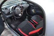 Фото 4 - Чехлы MW Brothers Mercedes-Benz Smart Fortwo I (450) (1998-2007), красные вставки + красная нить