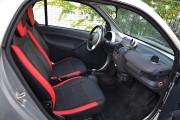Фото 8 - Чехлы MW Brothers Mercedes-Benz Smart Fortwo I (450) (1998-2007), красные вставки + красная нить
