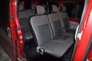 Фото 3 - Чехлы MW Brothers Renault Trafic II пассажир (2001-2014), красная нить