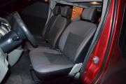 Фото 4 - Чехлы MW Brothers Renault Trafic II пассажир (2001-2014), красная нить