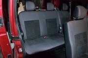 Фото 6 - Чехлы MW Brothers Renault Trafic II пассажир (2001-2014), красная нить