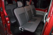 Фото 7 - Чехлы MW Brothers Renault Trafic II пассажир (2001-2014), красная нить