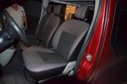 Фото 8 - Чехлы MW Brothers Renault Trafic II пассажир (2001-2014), красная нить