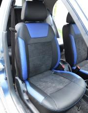 MW Brothers ZAZ Lanos T100 Hatchback (2009-н.д.), синие вставки