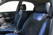 Фото 2 - Чехлы MW Brothers ZAZ Lanos T100 Hatchback (2009-н.д.), синие вставки