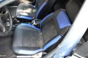 Фото 3 - Чехлы MW Brothers ZAZ Lanos T100 Hatchback (2009-н.д.), синие вставки