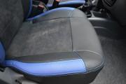 Фото 4 - Чехлы MW Brothers ZAZ Lanos T100 Hatchback (2009-н.д.), синие вставки