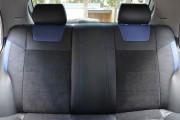 Фото 6 - Чехлы MW Brothers ZAZ Lanos T100 Hatchback (2009-н.д.), синие вставки