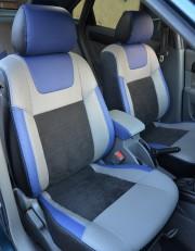 MW Brothers Chevrolet Lacetti (2002-н.д.), синие вставки + синяя нить