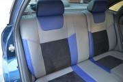фото 2 - Чехлы MW Brothers Chevrolet Lacetti (2002-н.д.), синие вставки + синяя нить