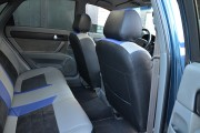 фото 3 - Чехлы MW Brothers Chevrolet Lacetti (2002-н.д.), синие вставки + синяя нить