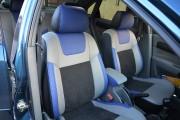 фото 4 - Чехлы MW Brothers Chevrolet Lacetti (2002-н.д.), синие вставки + синяя нить