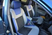 фото 5 - Чехлы MW Brothers Chevrolet Lacetti (2002-н.д.), синие вставки + синяя нить