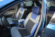 фото 7 - Чехлы MW Brothers Chevrolet Lacetti (2002-н.д.), синие вставки + синяя нить