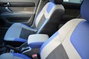 фото 8 - Чехлы MW Brothers Chevrolet Lacetti (2002-н.д.), синие вставки + синяя нить
