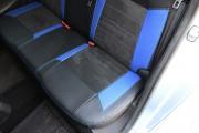 Фото 7 - Чехлы MW Brothers Citroen C-Elysee (2013-н.д.), синие вставки + синяя нить