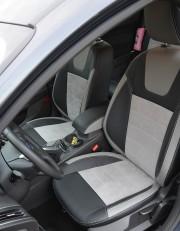 MW Brothers Ford Focus III (2011-2014), светлые вставки + серая нить