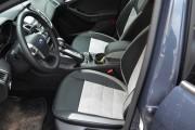 Фото 4 - Чехлы MW Brothers Ford Focus III (2011-2014), светлые вставки + серая нить