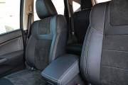 Фото 4 - Чехлы MW Brothers Honda CR-V IV (2012-2017), серая нить