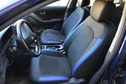 Фото 2 - Чехлы MW Brothers Hyundai Elantra IV (HD) (2006-2011), синие вставки + синяя нить