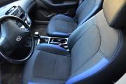 Фото 3 - Чехлы MW Brothers Hyundai Elantra IV (HD) (2006-2011), синие вставки + синяя нить