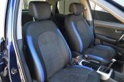 Фото 5 - Чехлы MW Brothers Hyundai Elantra IV (HD) (2006-2011), синие вставки + синяя нить