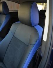 MW Brothers Mazda 6 III (2013-2018), синие вставки + синяя нить