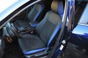 Фото 2 - Чехлы MW Brothers Mazda 6 III (2013-2018), синие вставки + синяя нить