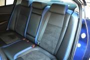 Фото 4 - Чехлы MW Brothers Mazda 6 III (2013-2018), синие вставки + синяя нить