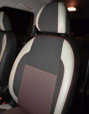 MW Brothers Citroen C3 Picasso (2009-н.д.), светлые вставки + красная нить