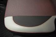 фото 5 - Чехлы MW Brothers Citroen C3 Picasso (2009-н.д.), светлые вставки + красная нить
